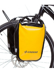 Sakwy rowerowe Crosso DRY SMALL 30l - Click system