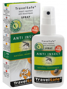 Preparat Ochrona przed owadami - TravelSafe Anti-Insect Spray 60ml - TravelSafe